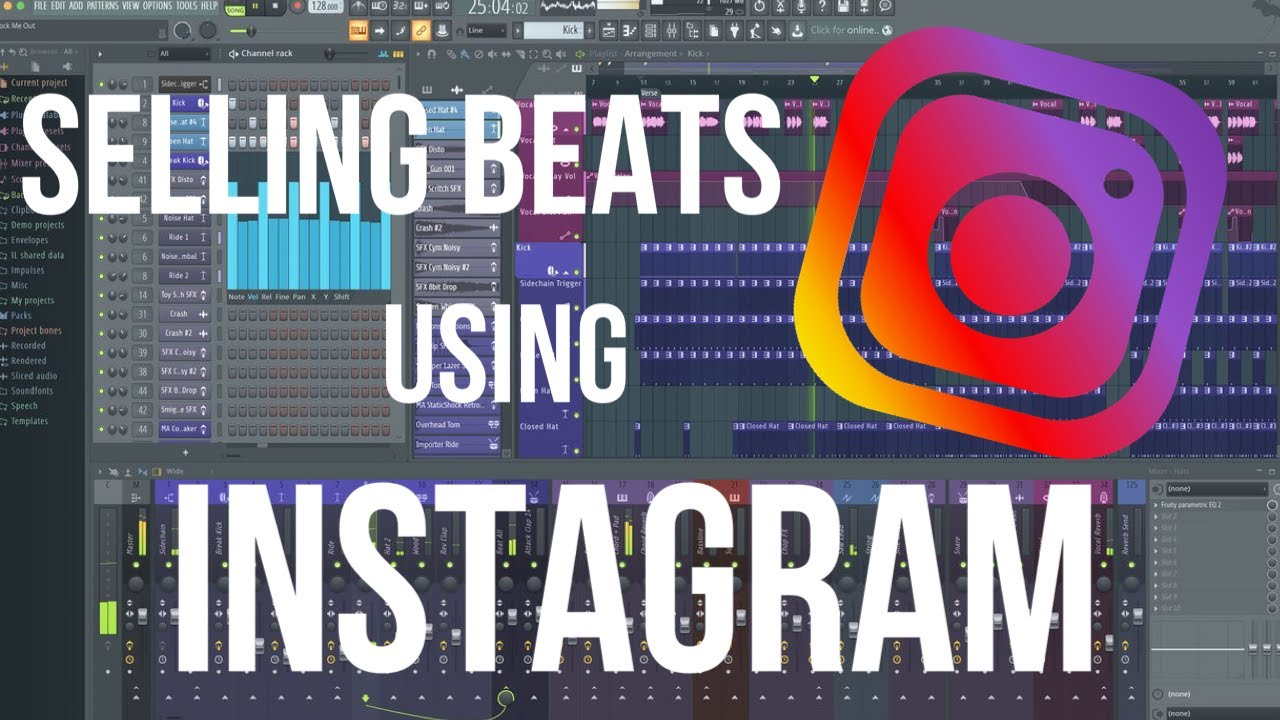 HOW I SELL BEATS USING INSTAGRAM | How to Sell Beats Online EASY 2019