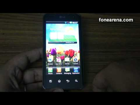 LG Optimus 2X Unboxing