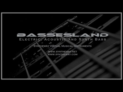 Bassesland Virtual Bass VST: Electric, Acoustic and Synthesizer Bass by Syntheway
