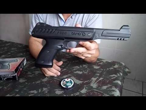 Pistola de pressão GAMO P 900 apresentação