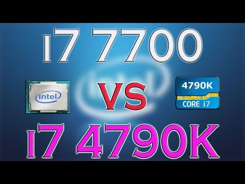i7 7700 vs i7 4790K - BENCHMARKS / GAMING TESTS REVIEW AND COMPARISON / Kaby Lake vs Haswell
