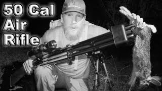 Catch and Cook Rabbit With 50 Cal Air Rifle Dragon Claw / Day 16 Of 30 Day Survival Challenge  Texas