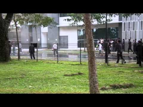 Riot control in Singapore