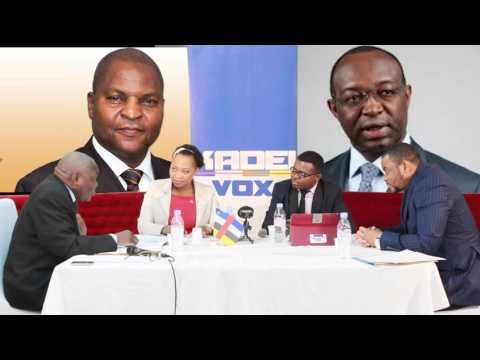 Présidentielle-Centrafrique: le Debat d'entre-deux-tours sur Kadei Vox
