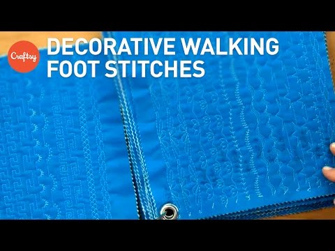 Decorative Quilting With a Walking Foot (Jacquie Gering's Stitch Journal) | Quilting Inspiration