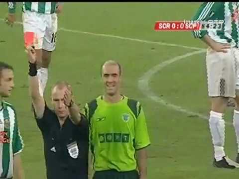 Rapid Viena - 0 x Sporting - 0 x de 2004/2005 Uefa 1Elim