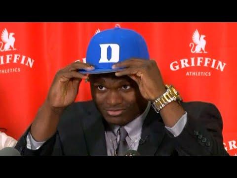 Zion Williamson Picks the Duke Blue Devils