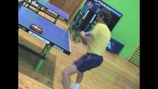 Table Tennis - foot work (part 2)