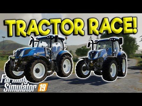BAD FARMERS RACE & CRASH TRACTORS!