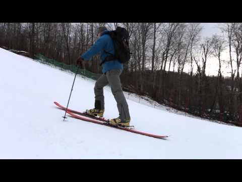 Backcountry Tip - Efficient Uphill Travel