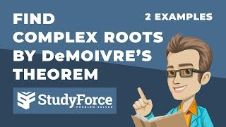 📚 How to find the roots of complex numbers in polar form (DeMoivre's Theorem)