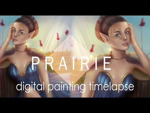 Prairie | Digital Painting Timelapse