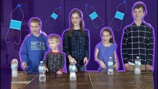 WATER BOTTLE FLIP CHALLENGE (ft. That's Amazing)