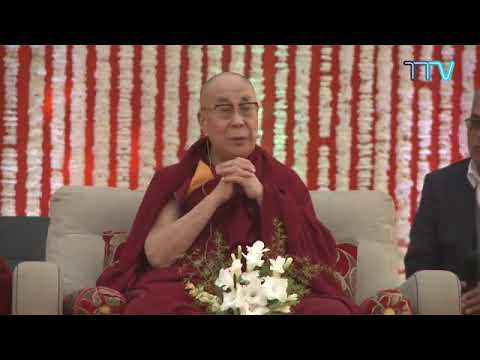 His Holiness The XIV Dalai Lama speaks on the Reviving of Ancient Indian Knowledge at Salwan School
