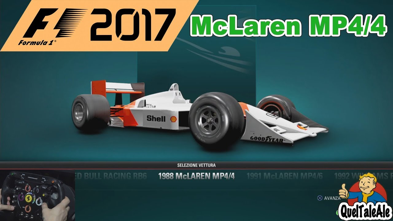 f1 2017 gameplay ita ps4 t300 classic race. Black Bedroom Furniture Sets. Home Design Ideas