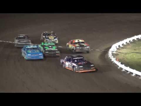 IMCA Stock Car feature Farley Speedway 4/21/17