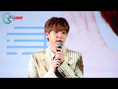 "180310 Press Conference JEONG SEWOON THE FIRST FAN MEETING IN BANGKOK ""BE HAPPY !"