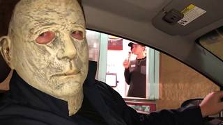 Michael Myers Orders McDonald's