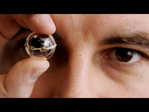 Prototype bionic eye created with custom 3D printer