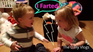 Which Kid Farted ? Very Cute Kids Argument | The Daily Vlogs
