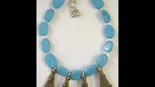 Semiprecious stone jewelry Garnet, Lapis, Amethyst, Turquoise, Crystal quartz Semi precious Gemstone