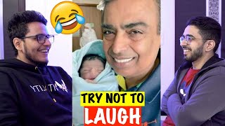 Try Not To Laugh Challenge vs Best Friend (Dank Indian Memes)