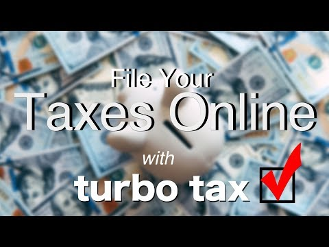 How to File Your Taxes Online with Turbo Tax
