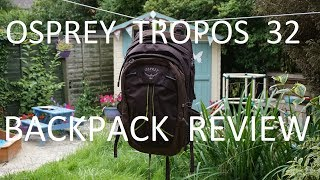 Osprey Tropos 32 Backpack Review - a versatile daypack with a kickstand