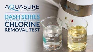 Aquasure Dash Series Countertop Drinking Water System - Chlorine Removal Test