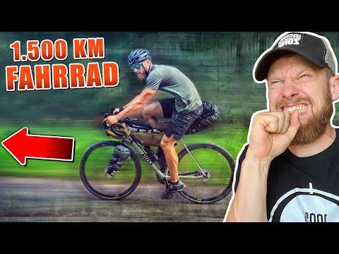 1.500 KM mit dem FAHRRAD - Das ABENTEUER unseres LEBENS | Fritz Meinecke reagiert auf PJ Adventure
