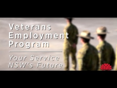 Thumnbail for Veterans Employment Program