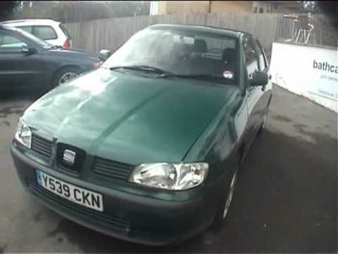 2001 seat ibiza 1 4 youtube. Black Bedroom Furniture Sets. Home Design Ideas