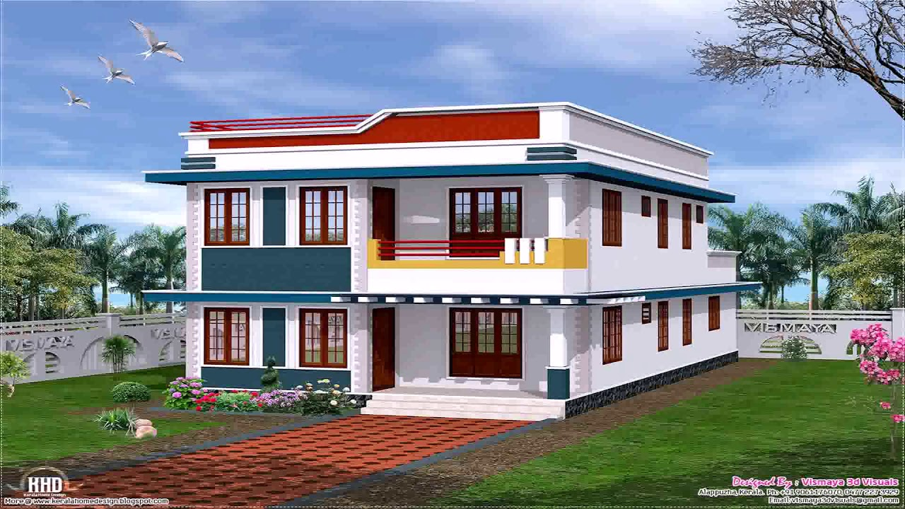 Single Floor House Front Design Indian Style Youtube