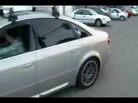 Audi A6 Stage2+ Exhaust, Race Dpu0027s X Pipe.