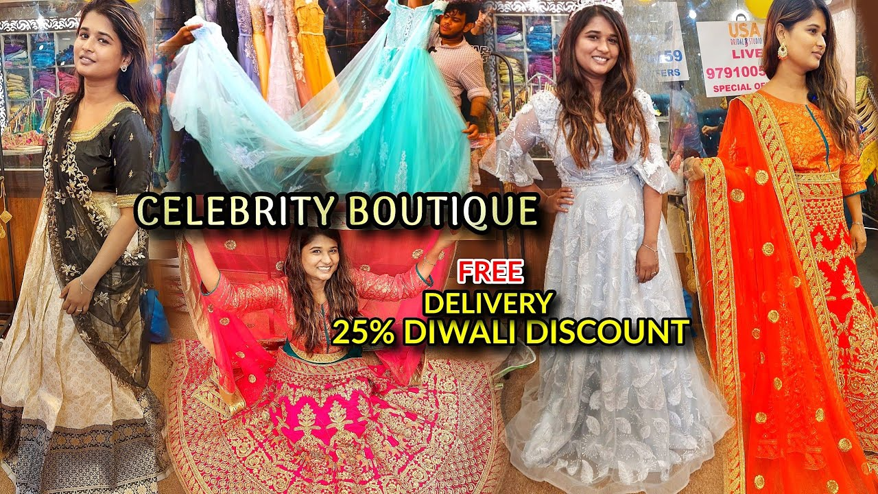south, north indian celebrity style lehenga|25%off|photoshoot collection|online delivery