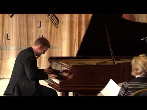 Beethoven / Liszt: Symphony No. 9 in D minor, Op. 125 - finale, performed by Michael Burke