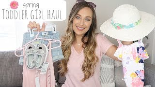 HUGE Toddler Girl Spring Clothing Haul   2018   Jerah Alaine
