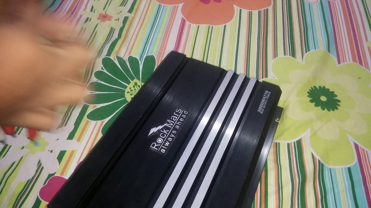 Car Amplifier And Woofer Price In Pakistan | GO AUDIO