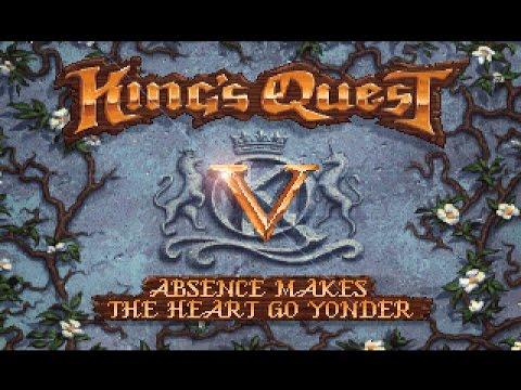 King's Quest V (PC/DOS) Longplay, 1990, Sierra