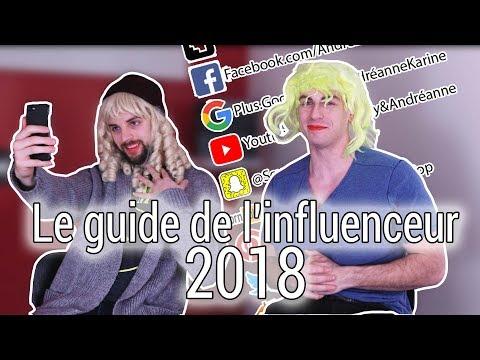 Le guide de l'influenceur 2018