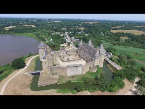 Château de Suscinio, Morbihan, Bretagne - DRONE