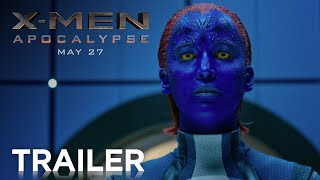 X-Men: Apocalypse | Official Trailer [HD] | 20th Century FOX(Following the critically acclaimed global smash hit X-Men: Days of Future Past, director Bryan Singer returns with X-MEN: APOCALYPSE. Since the dawn of ..., 2016-03-17T12:59:33.000Z)