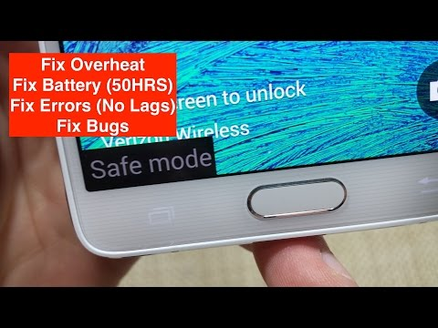 How To Switch On / Off - Safe Mode For All Samsung Galaxy Devices