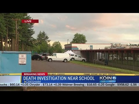 Man found dead in car that crashed into North Gresham grade school