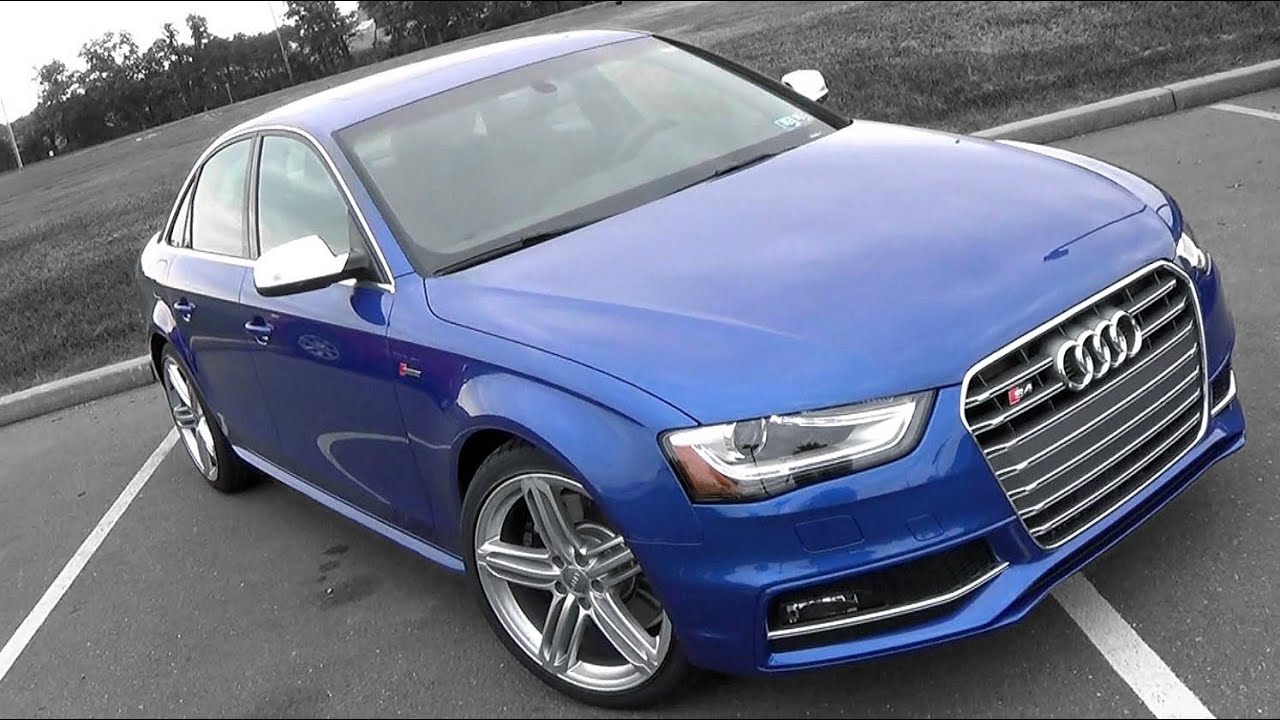 Audi S4 0 60 >> 2016 Audi S4: Review - YouTube
