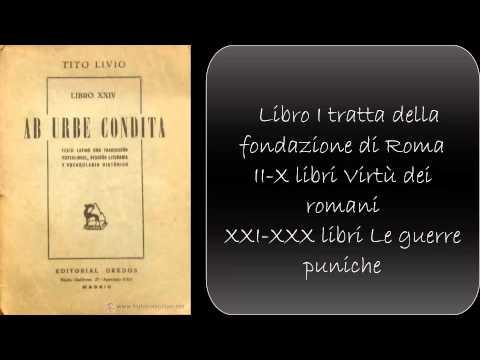 Lezione di latino: Tito Livio Ab Urbe condita