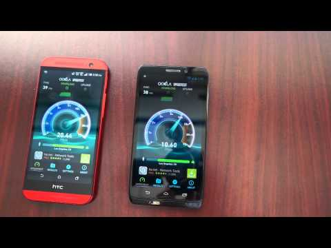 Verizon 4G LTE VS Verizon 4G XLTE network speed test