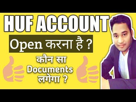 HUF Account Opening Documents | HUF Account Opening Procedure | HUF Account In Hindi | Kammu Talks