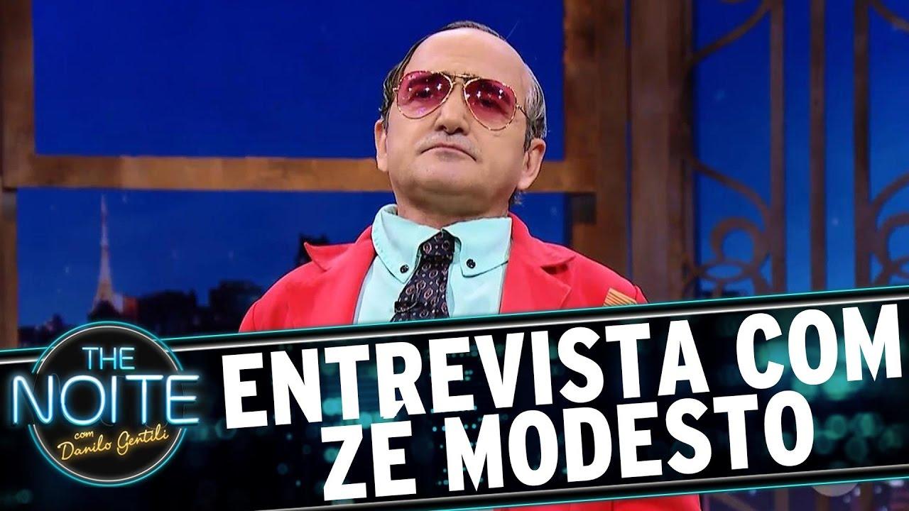 Entrevista com Zé Modesto | The Noite (18/05/17)
