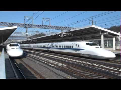 """El tren bala japonés / O trem bala japonês """"Shinkansen"""""""